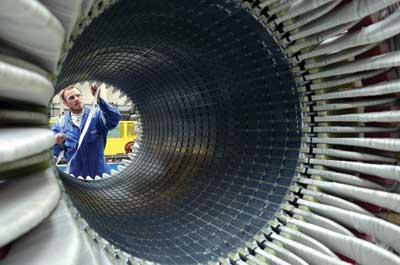 Stator coils can be independently tested before being installed